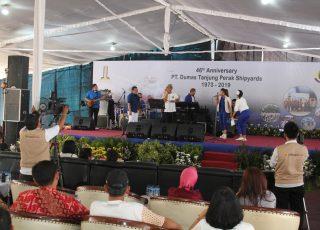 HUT PT. Dumas Tanjung Perak Shipyards Ke 46